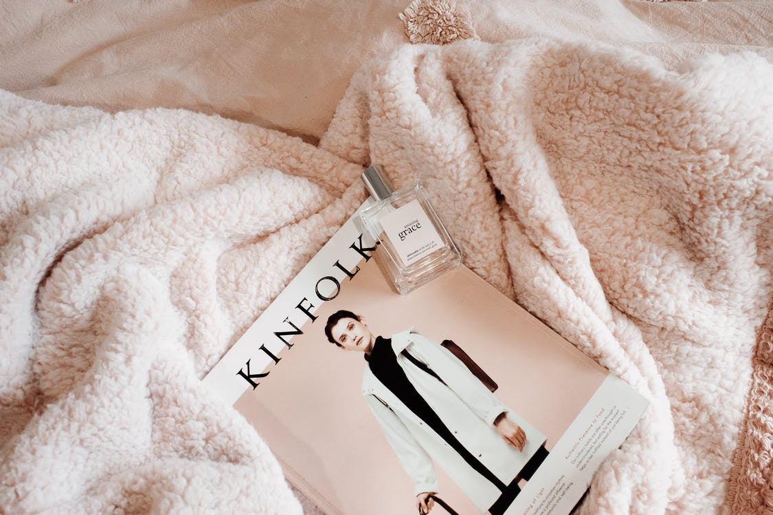 Kinfolk Tag on Blanket