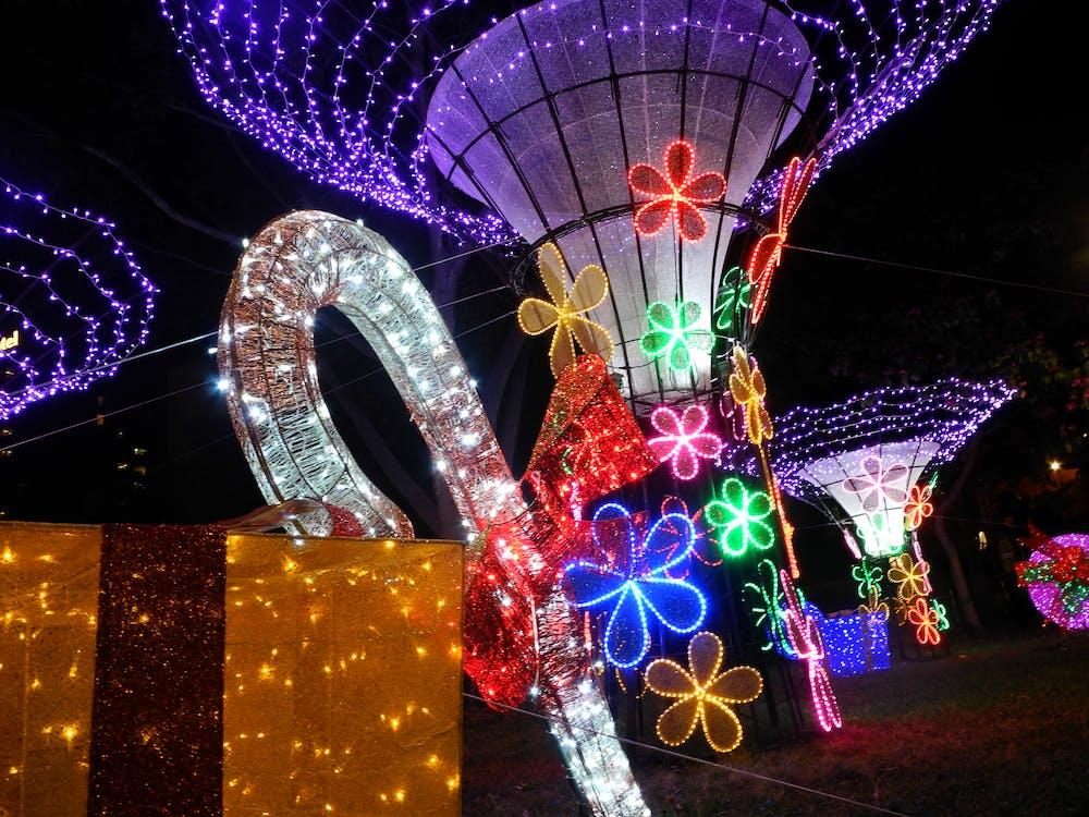 christmas, light