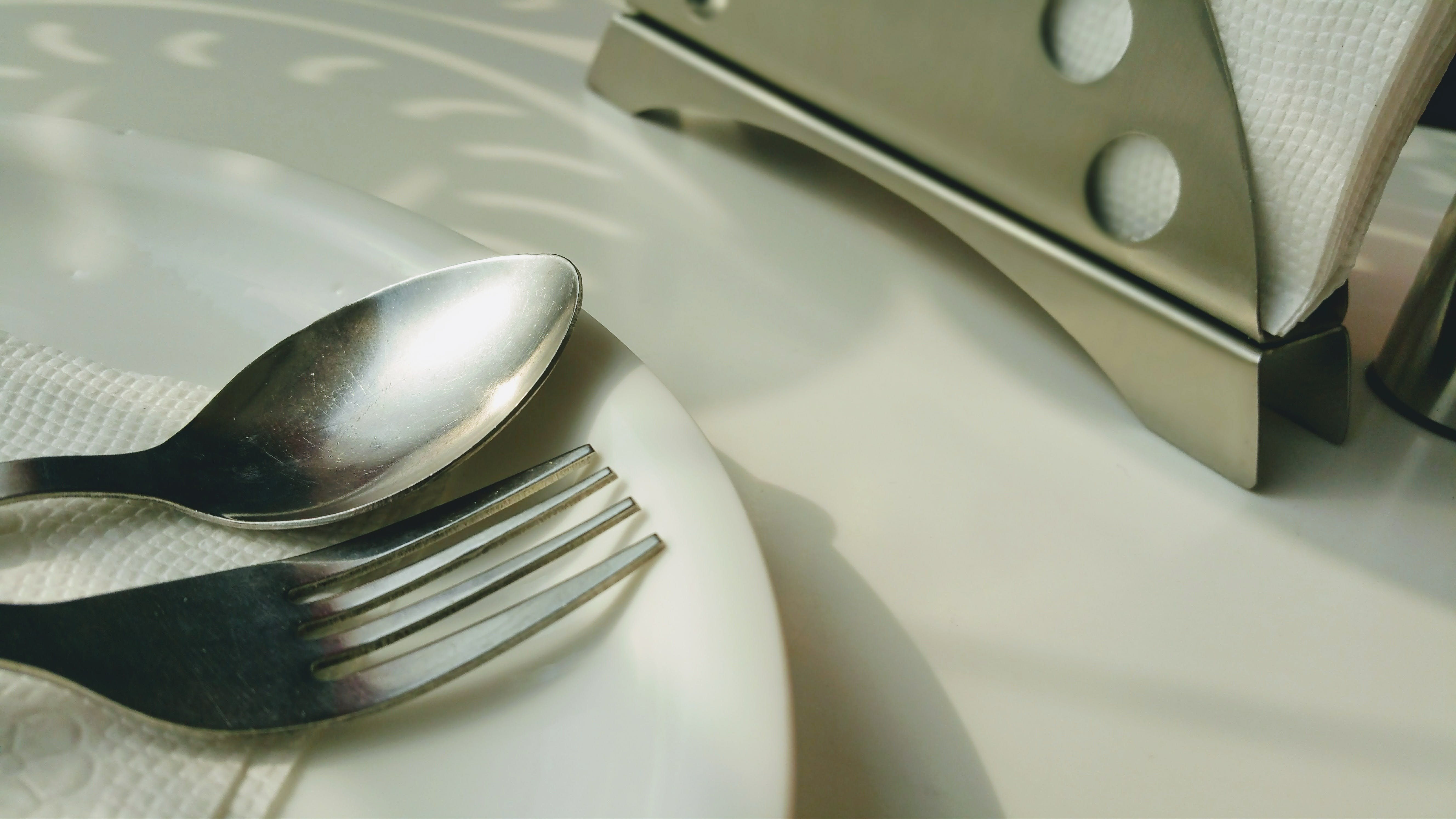 Free stock photo of cutlery, day, grey, holder