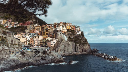 Houses on Cliffs