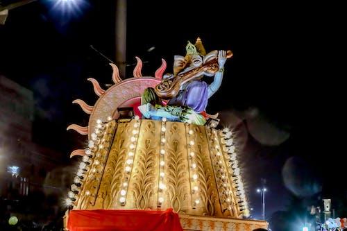 Foto d'estoc gratuïta de bé indi, bellesa natural, bonic, festival de l'índia