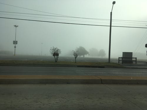 Darmowe zdjęcie z galerii z mglisty, mglisty poranek, mgła, wczesny ranek