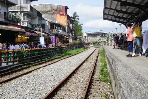 Free stock photo of railway track, shifen, Taipei, taiwan