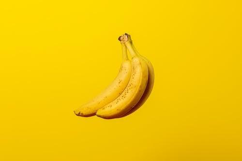 Fotobanka sbezplatnými fotkami na tému banány, Copy Space, farba, ovocie