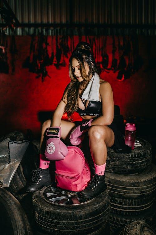 Imagine de stoc gratuită din anvelope, așezat, boxer, Brazilia