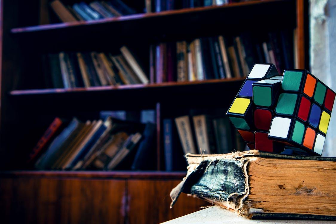 Rubik's Cube on Book