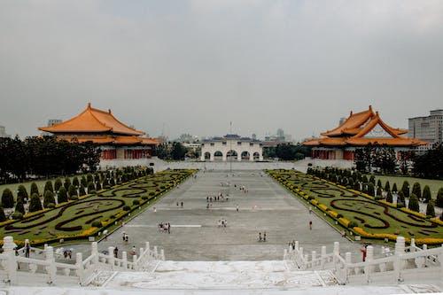 Photos gratuites de arbres, architecture, Architecture asiatique, architecture chinoise