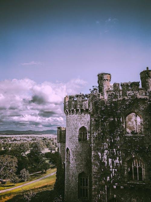 Black and Brown Concrete Castle