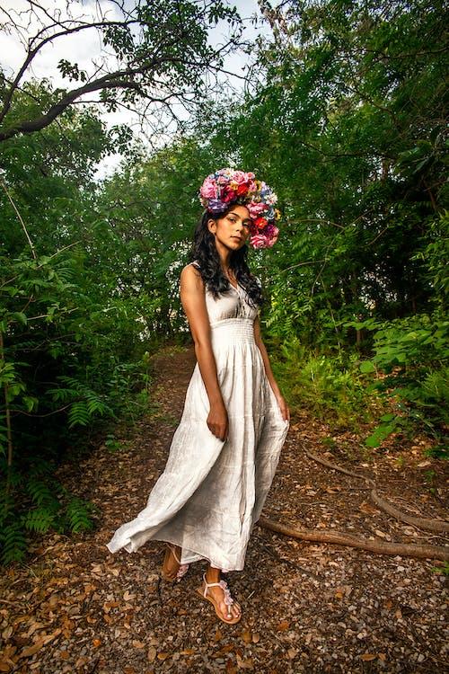 fotenie, korunka zkvetov, krásny