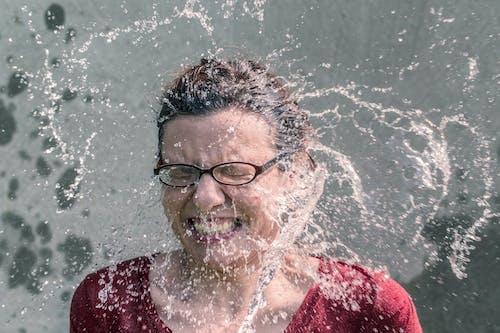 Gratis stockfoto met als ijsemmer uitdaging, besef, bewustwording bewustzijn, blauwig