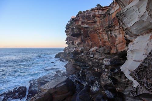 Free stock photo of coast, horizon, rock