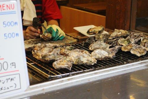 Photos gratuites de cuisine de rue, cuisine de rue japonaise, fruits de mer, hiroshima