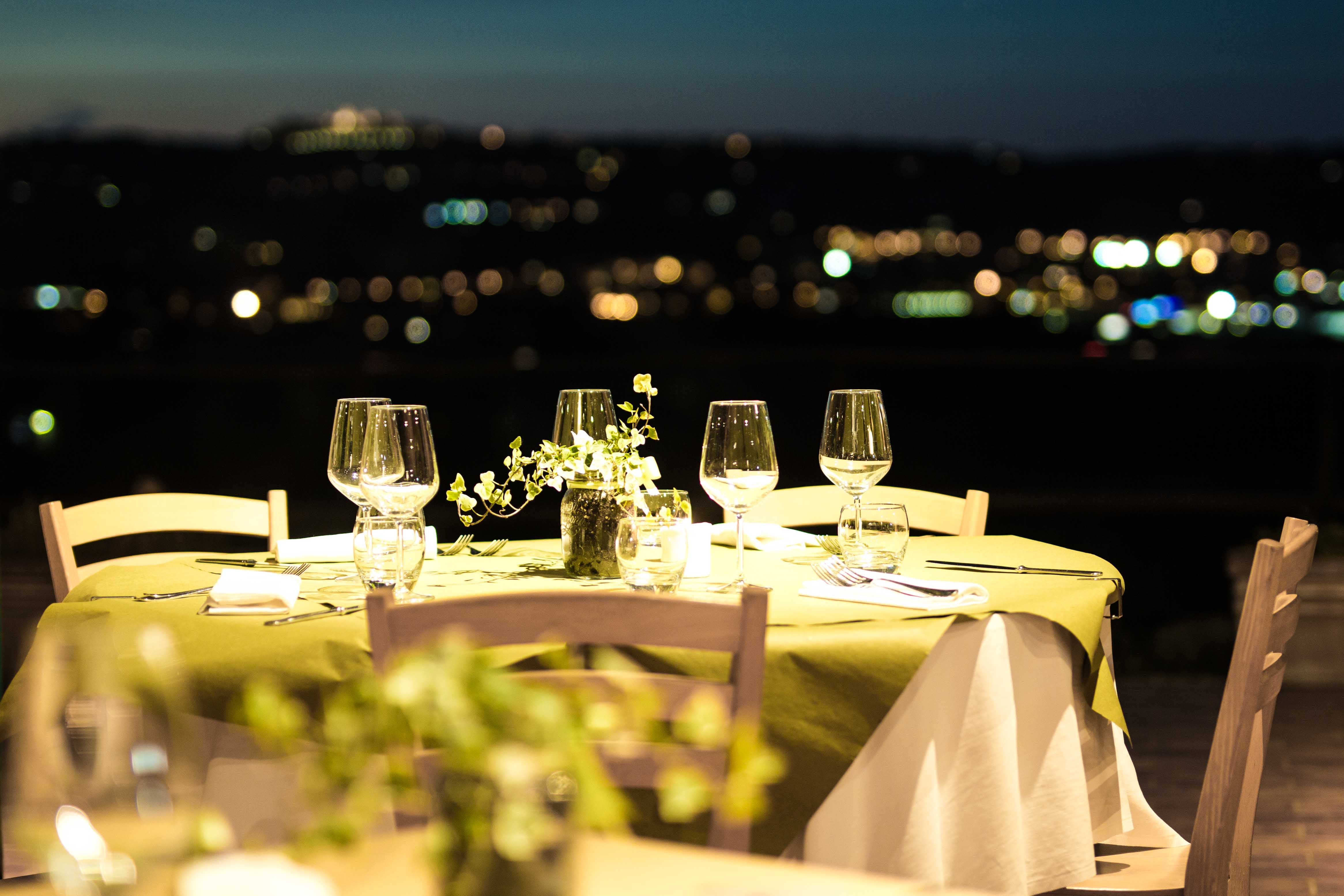 Free stock photo of dinner, dinner table, night table, pool