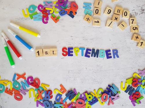 Foto stok gratis 1 september, kembali ke sekolah