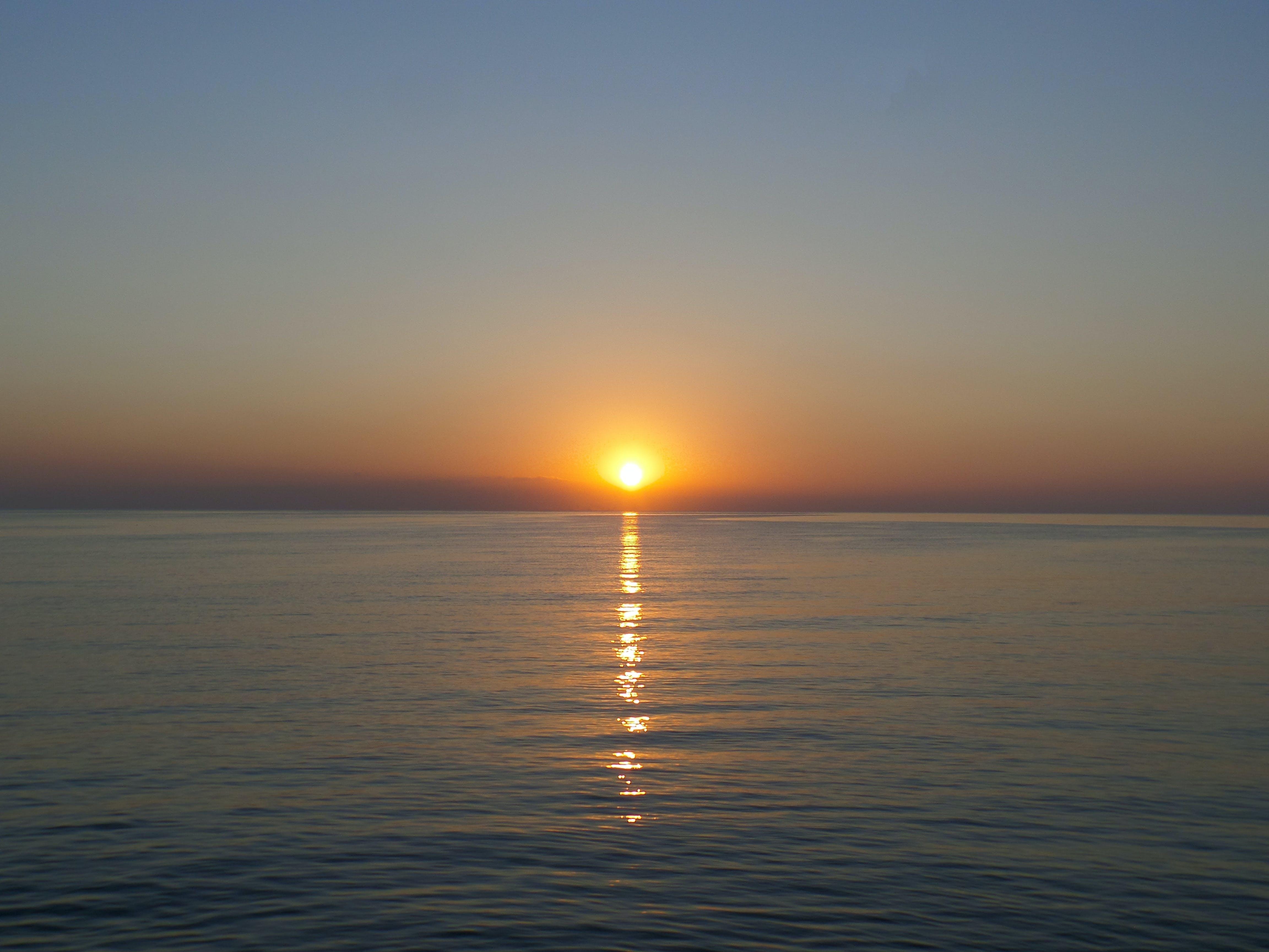 Free stock photo of beach landscape, beautiful sun set, early morning, nature