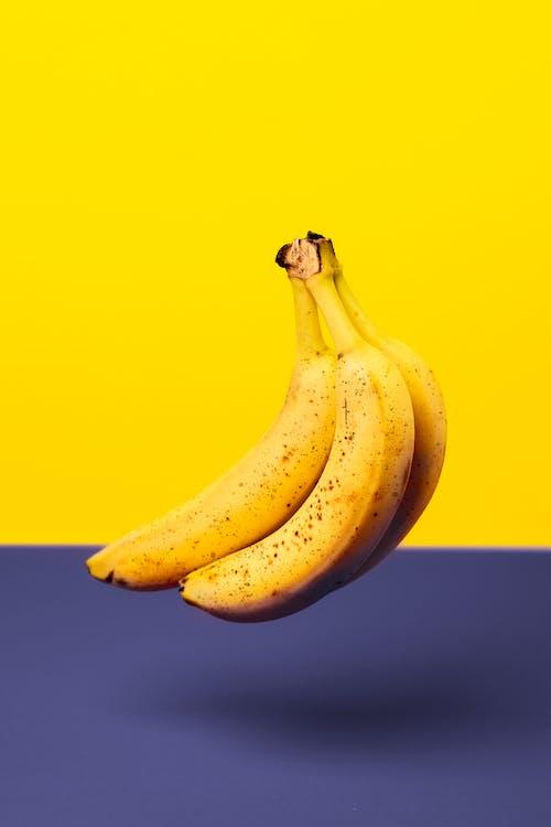 banány, organický, ovocie