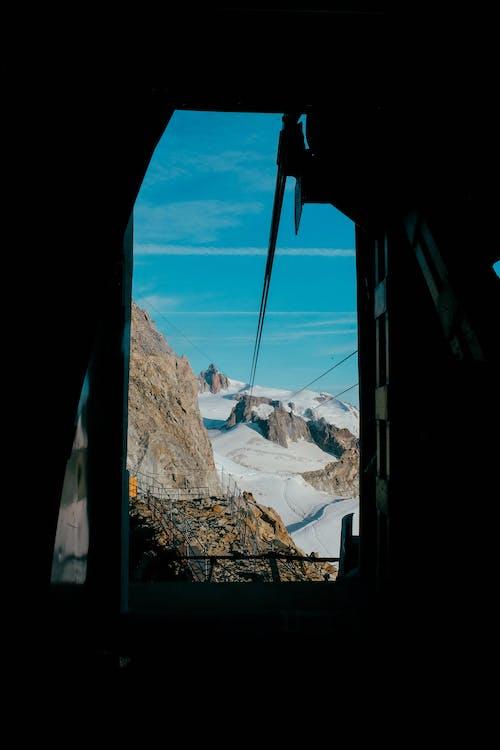 冬季, 冰河, 山, 旅行 的 免费素材照片