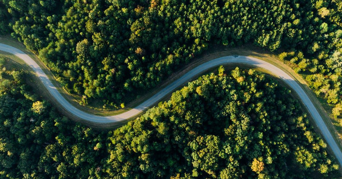 Дорога с верху картинки