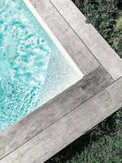나무, 더그아웃 수영장, 디자인, 물의 무료 스톡 사진