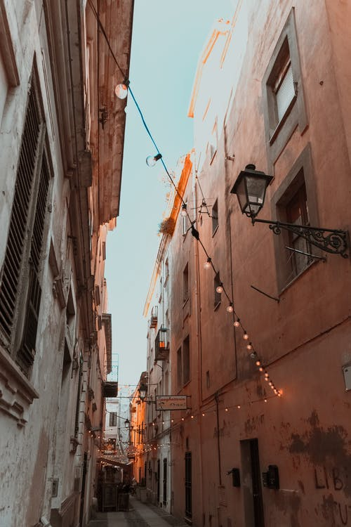 Photo of Narrow Alley In Between Buildings