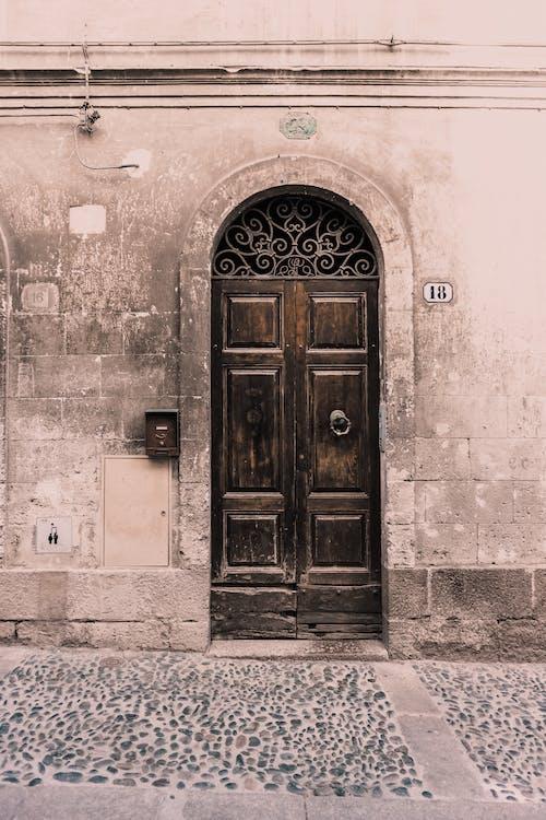 Imagine de stoc gratuită din arc, clădire, de lemn, intrare
