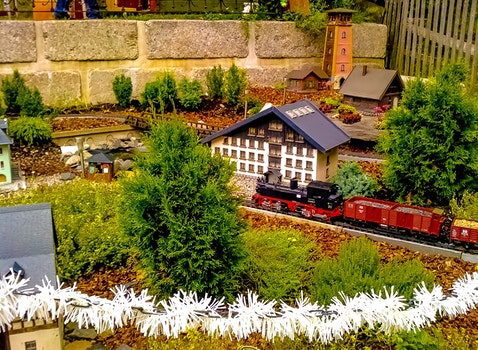 Free stock photo of landscape, summer, building, garden