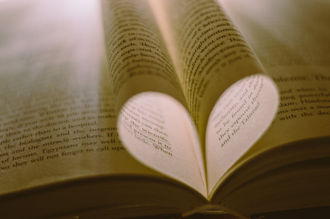 Close-Up Photo Of Book Pages