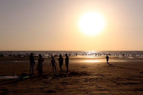 Бесплатное стоковое фото с Азия, вечер, гало, горизонт