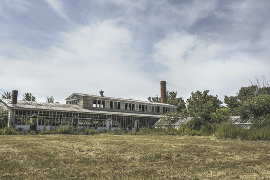Free stock photo of building, industry, broken, factory