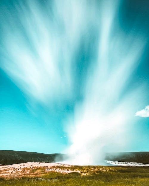 Foto stok gratis air, alam, Aurora, berbayang