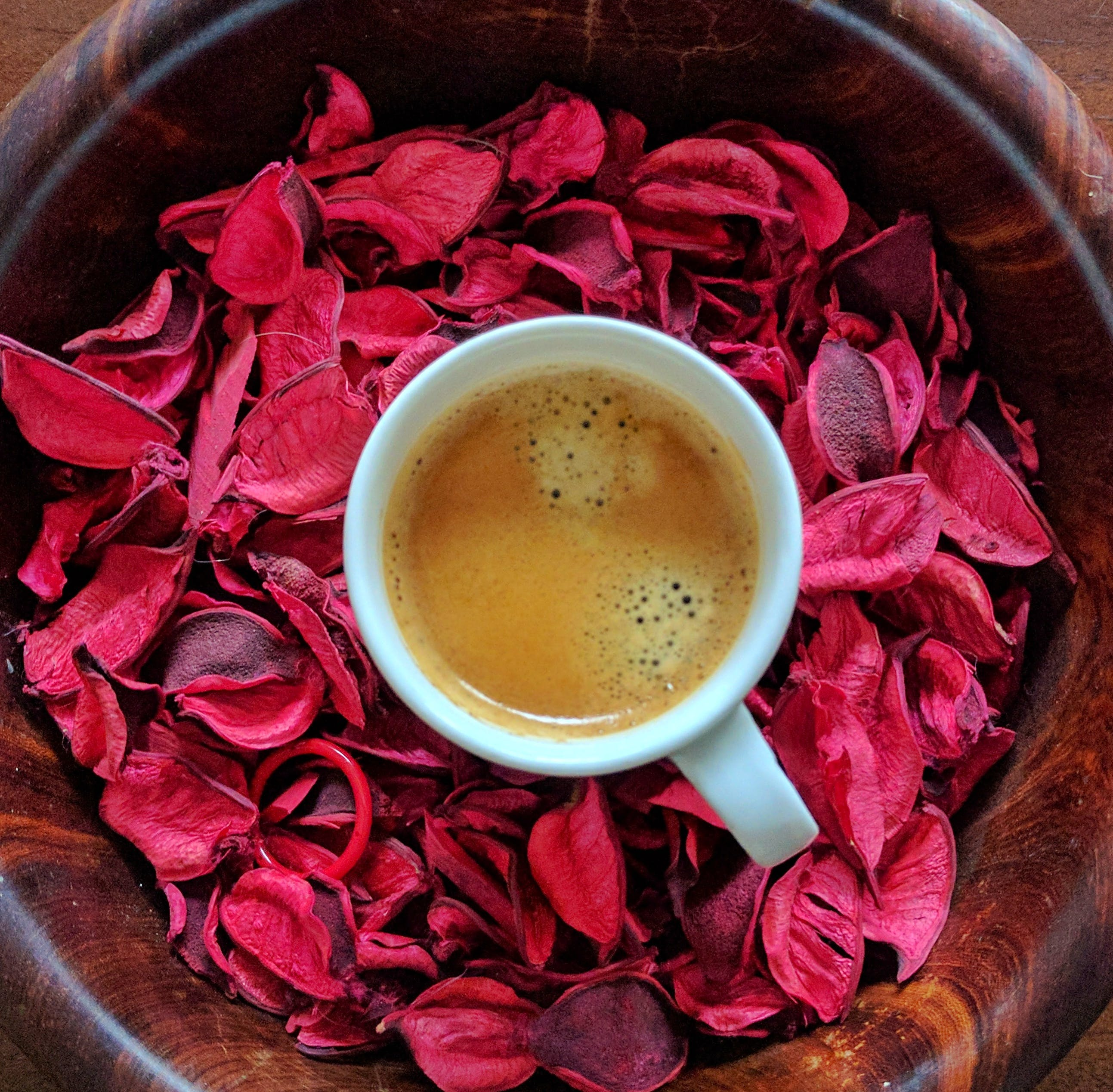 Free stock photo of coffee, espresso shot, potpourri