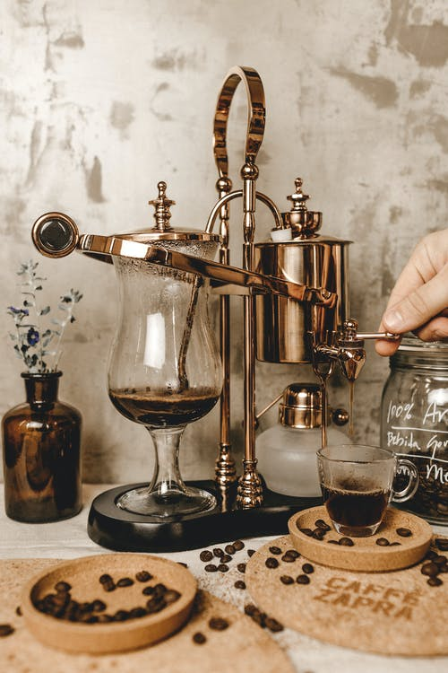 antikk, barista, barkafé