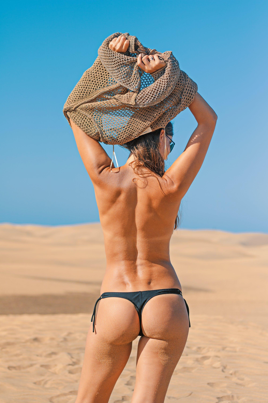 Free stock photo of beach, woman, summer, ass