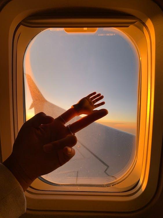 ทารก, ปีกเครื่องบิน, มือ