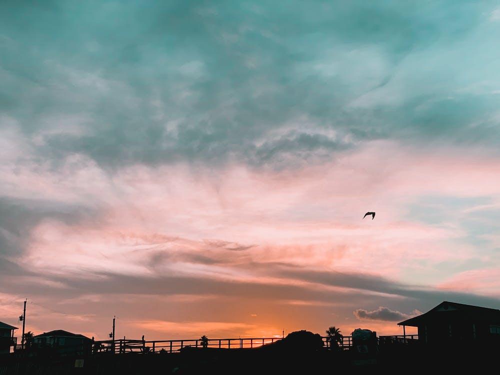 คลังภาพถ่ายฟรี ของ ตะวันลับฟ้า, พระอาทิตย์ตก, เท็กซัส