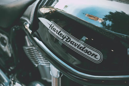Black Harley-davidson Motorcycle
