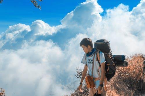 Δωρεάν στοκ φωτογραφιών με canon, αναρρίχηση, Άνθρωποι, βουνά