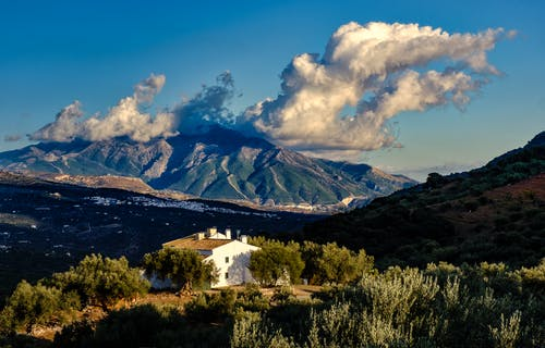 Free stock photo of andalusia, clouds, dramatic sky, mountain