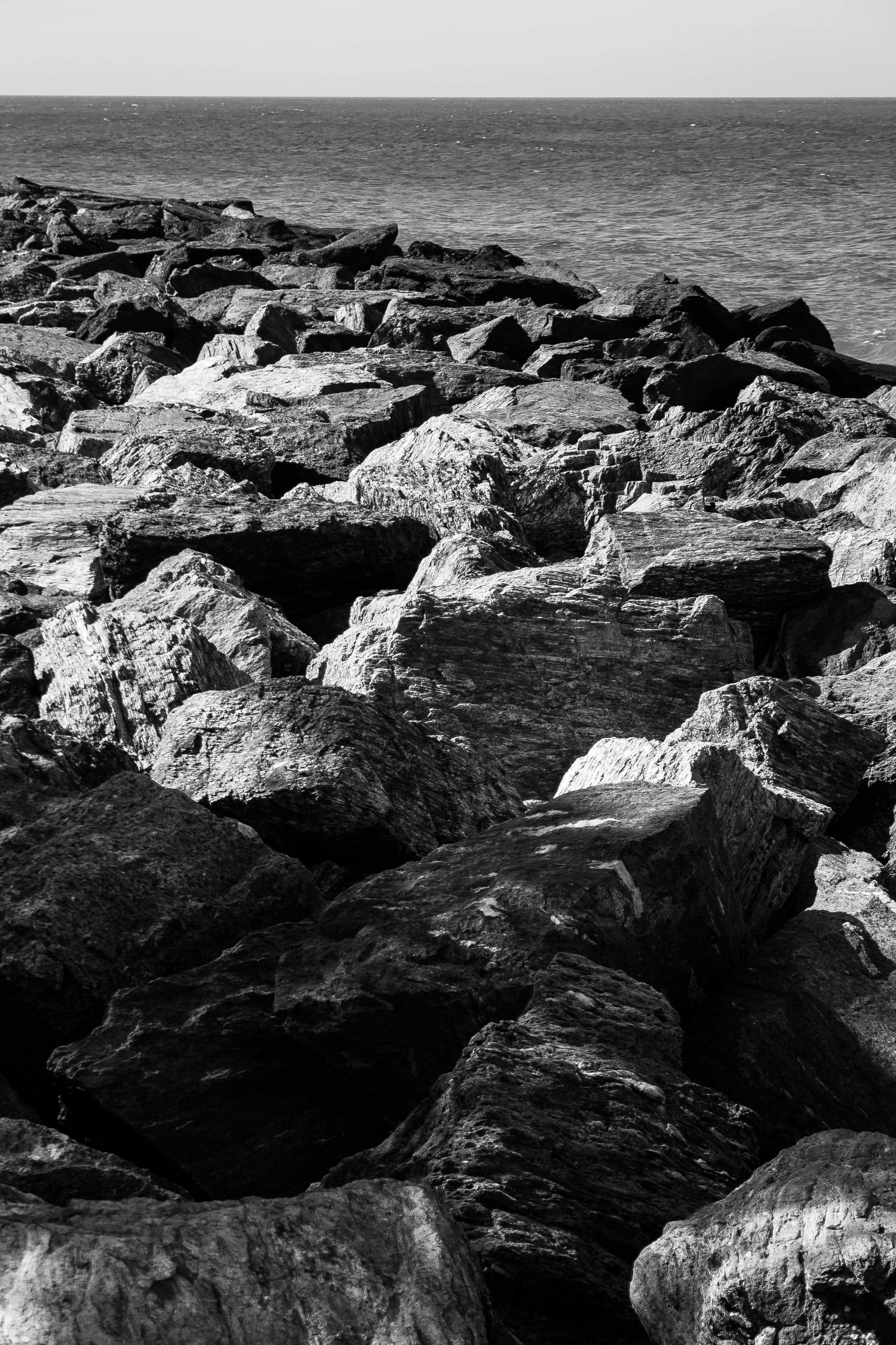 Free stock photo of black and white, nature, nature photography, rocks