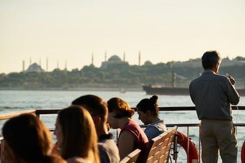 人, 伊斯坦堡, 休閒, 土耳其 的 免费素材照片