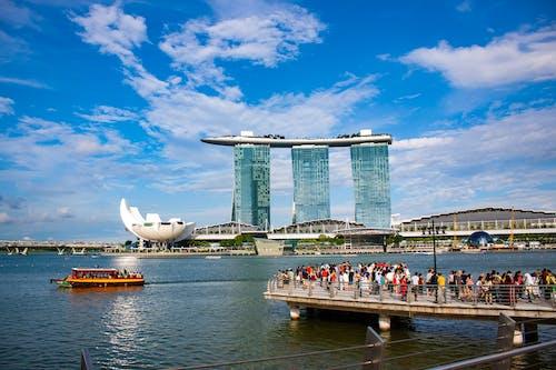 Gratis lagerfoto af Marina Bay Sands