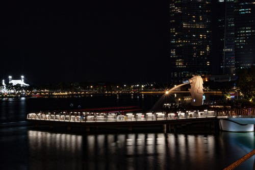 Gratis lagerfoto af Marina Bay Sands, merlion, merlion singapore, Singapore