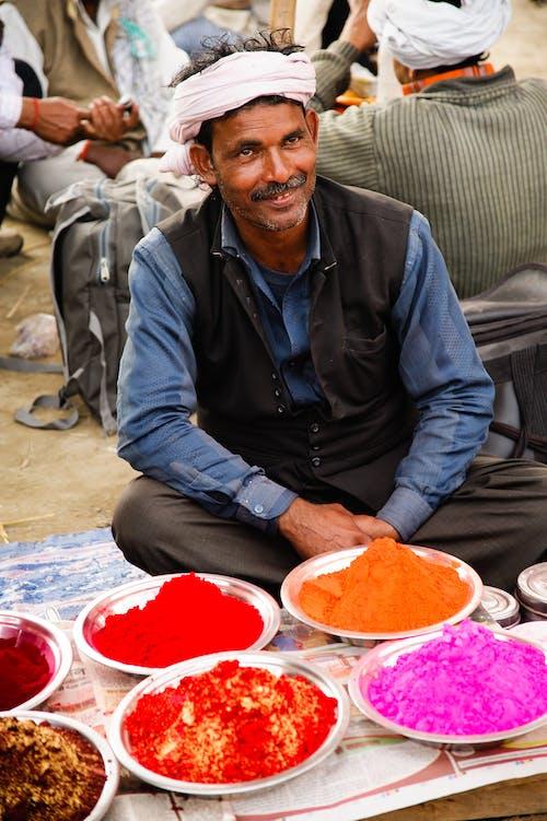 Gratis lagerfoto af hindu, Indien, indisk festival, indisk mand
