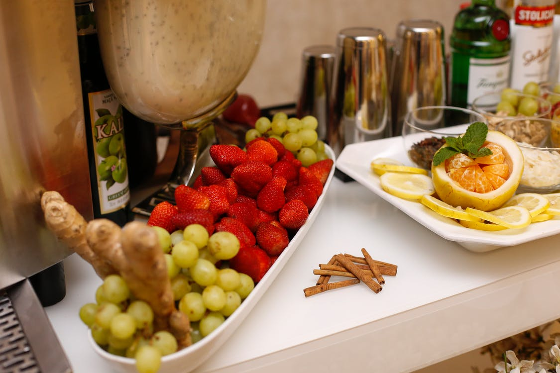 Assorted Fruits On Table