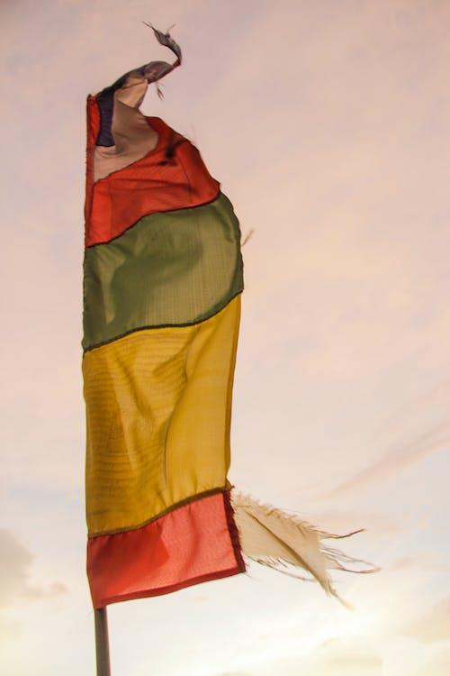 Foto stok gratis bendera, keagamaan, kultural, Nepal