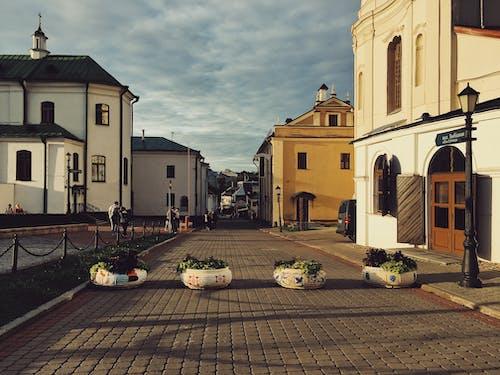 Základová fotografie zdarma na téma minsk, prázdná ulice, staré město