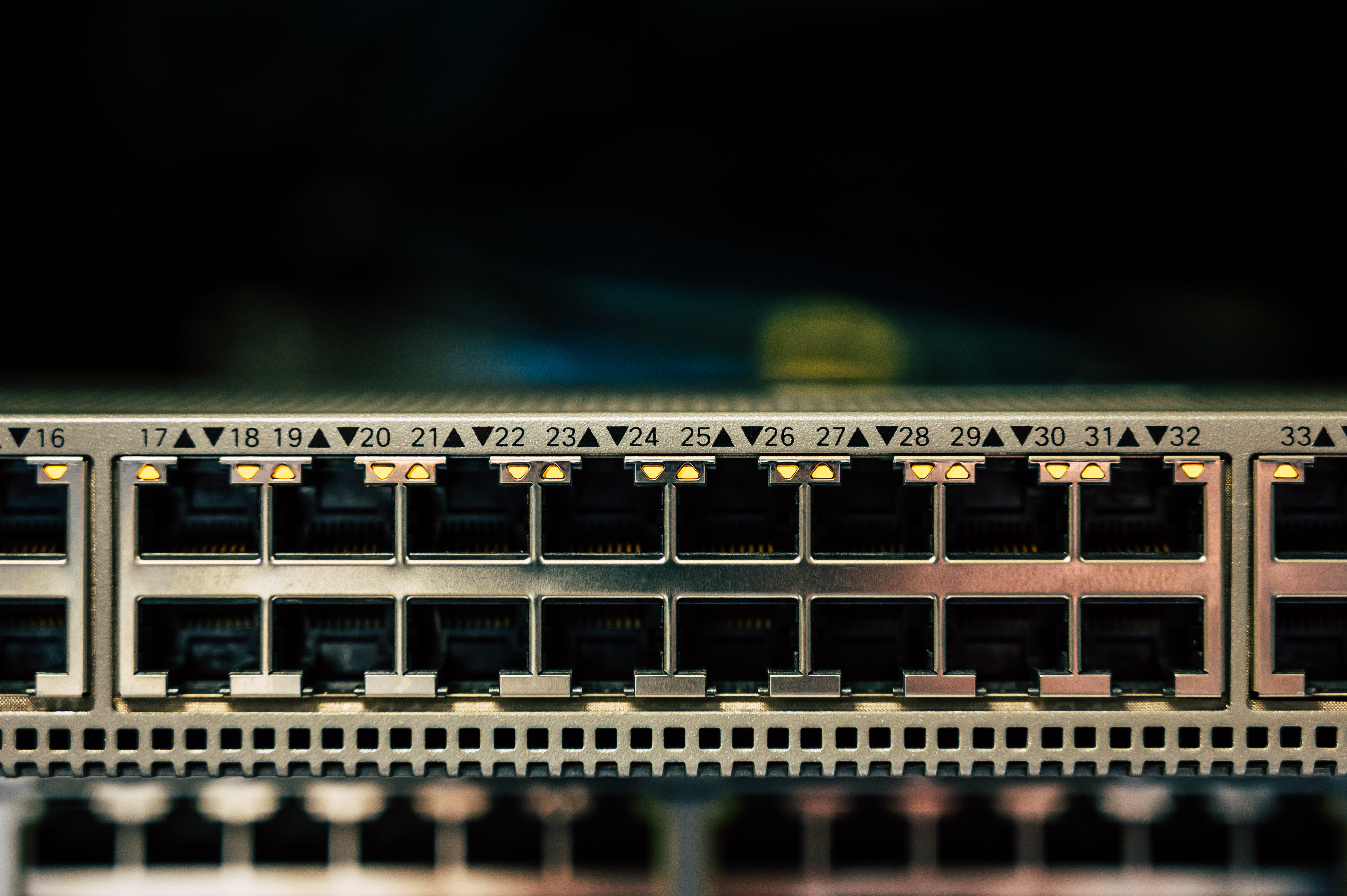 Close-up Photo of Computer Port