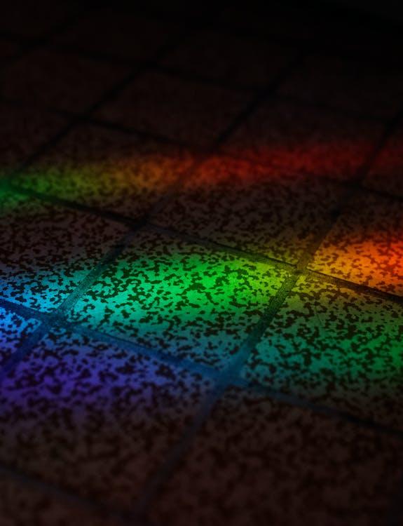 Shades Of Light On A Floor