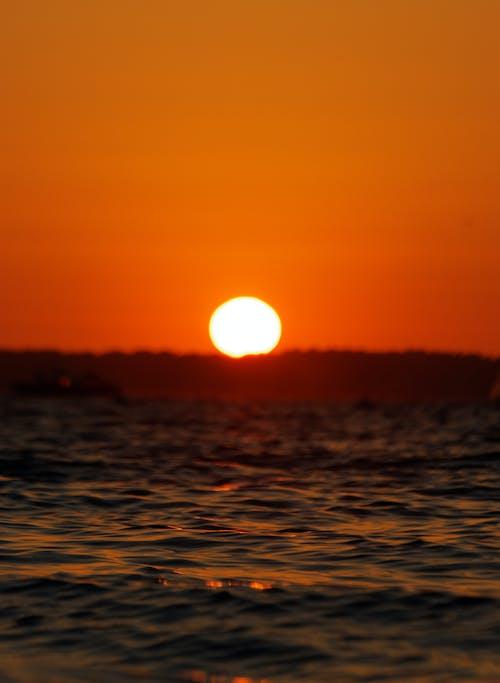 H2O, 反射, 夕方, 夕暮れの無料の写真素材