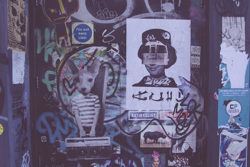 Free stock photo of grafitti, london, queen, street art